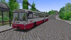 OMSI 2: Mercedes-Benz O 305 G (Bahnbus-mod) CP / MTB (for map Alto da Boa Viagem) - Photo 1 of 4 (O530 Carris PT) Tags: omsi2 mercedesbenz o305g cp caminhos de ferro portugueses mtb boa viagem