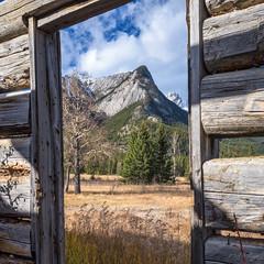 Moberly Homestead - The View (WherezJeff) Tags: canada canadian history homestead jasper metis moberly myjasper rockies abandoned mountains improvementdistrictno12 alberta ca