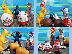 Dino Hatching (John 3000) Tags: toys juguetes dinosaurs dinovember hatching kindersurprise kinder egg eggs sorpresa niespodzianka huevos minifigs bandai capsule gashapon toho ultra 7 soulofbullmark