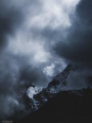 Energy of Light (cody.waldon) Tags: basecamp mountains scene scale ridge blackwhite energy artistic outdoors nepal trekking outdoor explore adventure light