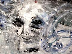 At Your Side (giveawayboy) Tags: acrylic paint painting art fch tampa artist giveawayboy billrogers pennsylvania pawhitebigfoot sasquatch sufjan sufjanstevens snowbank snow snowman wmotf christmas winter carbondale pwb