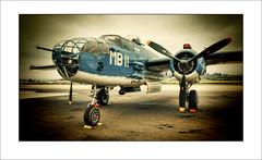 PBJ on the flight line (LOCK-ness monster) Tags: b25 pbjmitchell caf usmarinebommer hdr hss
