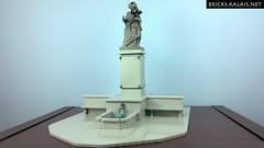 Copernicus monument made with LEGO (BricksTreasure) Tags: lego moc copernicus kopernik monument statue pomnik