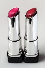 War Paint (Karen Carmen) Tags: lines makeup macro warpaint cosmetics canon100mm repeatingshapes lipstick red
