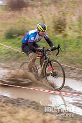Panning in puddles (foamcutter pictures) Tags: ireland cx cycling cycle cyclocross cyclox bike race racing crosscountry offroad sport pasttime exercise training bicycle mishap mistake mud accident braywheelers kilrudderyhouse pan panning motion motionblur