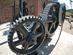 Gears (diarnst) Tags: technik technic rder wheels zahnrder gears old alt metall metal