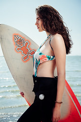 WAVE RIDER (mrksaari) Tags: d750 2470mmf28g model fashion editorial summer helsinki finland sports bikini surf board sea