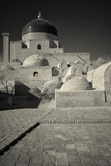 _DSC4480 (Boris Anipchenko) Tags: uzbekistan khiva autumn infrared ir     bw