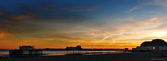 A Respite from Shopping (Janet - West Sussex) Tags: sunset worthing pier