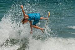 2016 Vilano Beach Pro Am Skim boarding compettion (James Kellogg's Photographs) Tags: vilano beach pro am skim boarding board contest florida surf surfing male mens teenager atlantic ocean water canon 7d outdoor sport swim