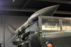 M386 Honest John Rocket Launcher (Bri_J) Tags: landwarfarehall iwm duxford cambs uk iwmduxford nikon d7200 m386 honestjohn rocketlauncher coldwar usarmy nuclearweapon
