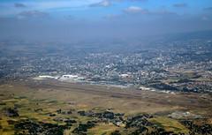 departing Addis Ababa Bole International Airport, Ethiopia (Jaws300) Tags: addis ababa bole international airport add haab b767300 b767 b763 et eth airlines ethiopian airways boeing ethiopianairlines b767300er etalp addisababa ethiopia flying scenery airborne from above