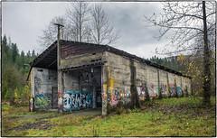 Mill Bldg (NoJuan) Tags: abandoned neglected oldbuilding 6d eos6d 28nikkorh nikkor nikkorlens eoswithmanualfocuslens manualfocuslensondslr fotodioxadapter fotodiox