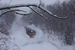 Dashing through the Snow! (CN Southwell) Tags: wnyp alco c430 snow lake effect train railroad rr