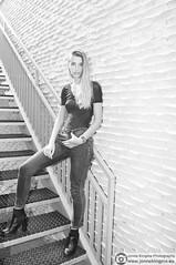 (Just a guy who likes to take pictures) Tags: almere almerepoort model fotoshoot photo shoot female frau vrouw feminine modell shooting mode fashion portrait porträt portret face gezicht woman girl modefotografie fashionphotography style stylish stijl blackandwhite zwartwit bw monochrome monochroom schwarzweis schwarzweiss noiretblanc blancoynegro nederland holland niederlande thenetherlands netherlands holanda paysbas europe europa fotografie photography photographie nikon d300s d300 homeruskwartier jeans broek pants hose trousers pose laarsjes heels hakken bodysuit body nobra braless madame femme lady moda photoshoot stairs trap treppe blonde blond pretty