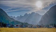 Innondata di luce. (valpil58) Tags: malborghettovalbruna lanscape panorama hdr sun light nikon d800 nikkor 28mm ais