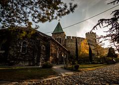 Ruica church in autumn light (I.C. Photo) Tags: belgrade beograd church crkvaruica fortress historic historical history hram militarychurch orthodox orthodoxtemple ruzicachurch ruica serbia srbija temple