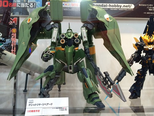 這次展覽主力介紹的看來是 Gundam UC 的模型