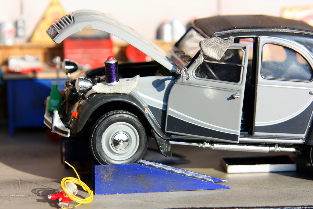The world 39 s most recently posted photos of garage and miniatures flickr hive mind - Garage miniature citroen ...