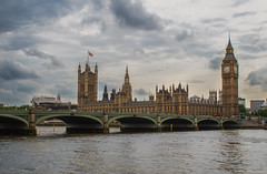 Houses of Parliament and Big Ben (vgallova) Tags: london housesofparliament bigben riverthames westminsterbridge westminsterpalace londonlandmarks thepalaceofwestminster