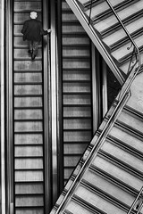 lj (BenMandefield) Tags: street old blackandwhite stairs liverpool sony sharp suit architect birdseyeview