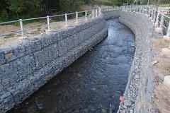 anti-flood river protection by gabions (gabioncenter) Tags: basket box woven protection gabions kose gabion antiflood pletene gabiony