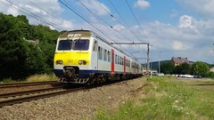 AM 391 - L125 - ANDENNE (philreg2011) Tags: train break trein nmbs sncb andenne am80 l125 ic2400 am391 ic2437