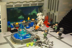 Lego halo Ambush (Brickwielder) Tags: new alexandria marine lego halo scene elite reach ultra grunt moc odst