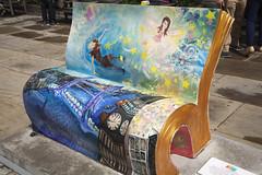 Peter Pan | Book benches - 19 (Paul Dykes) Tags: tinkerbell peterpan neverland jmbarrie bookbench booksabouttown lauraelizabethbolton bookbenches