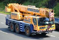 LEIBHERR LTM Mobile Crane - AINSCOUGH (scotrailm 63A) Tags: mobile cranes ainscough