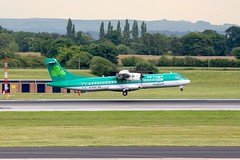 EI-FAV Aer Lingus ATR 72-600 at Manchester Airport (Simon.Davison.Photography) Tags: plane canon manchester airport aircraft flight passenger 70200 aerlingus manchesterairport canon70200 canon6d ringwayairport atr72600 aerlingusregional eifav