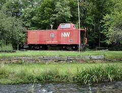 Elkhorn, West Virginia (4 of 7) (Bob McGilvray Jr.) Tags: railroad train nw tracks caboose westvirginia wab wabash elkhorn norfolkwestern