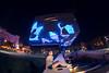 Caixa Forum (Juanedc) Tags: city blue people españa building azul architecture night dark noche spain arquitectura darkness gente maria edificio ciudad fisheye zaragoza nocturna aragon nights es noches saragossa oscuridad oscuro ojodepez mariya caixaforum mariyaprokopyuk