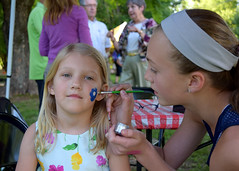Lots of fun for the kids at our annual June Supper!