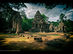 Hola Preah Pithu Temple! Angkor Wat Archaeological Park, Cambodia (Sam Antonio Photography) Tags: old travel sky lake reflection tree heritage tourism monument nature stone wall architecture asian religious temple photography site construction ancient sandstone ruins worship asia cambodia southeastasia cambodian khmer sam buddha buddhist famous religion ruin entrance culture buddhism landmark angkorwat structure historic unescoworldheritagesite unesco jungle siem reap thom historical southeast antonio angkor wat hindu hinduism archeology indochina angkorthom preah preahpithu cambodiaphotography canon5dmarkii samantonio pithu canon1740f4lens pithou pithut