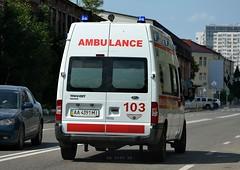 AA4391MI (Vetal_888) Tags: ford ukraine ambulance transit kyiv aa licenseplates україна київ aami номернізнаки aa4391mi