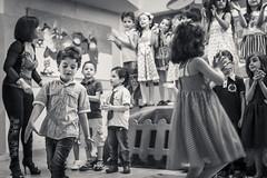KG3 Graduation 25 (Hani*) Tags: b party bw kids canon children blackwhite child play angle low wide graduation wideangle teacher 5d 24mm 2014 mark2 kg3 rulesofthirds 5dmarkii haniabsi