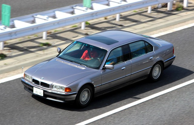 japan sedan exotic limousine v12 760