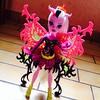 Marry that girl and we'll be a family (MyMonsterHighWorld) Tags: monster skeleton high doll moth freaky bonita femur fusion mattel 2014 hybrids
