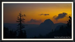 evening at half dome (olmstead point) (yosemite) (zimway2k) Tags: road sunset veil view pass tunnel falls yosemite dome half bridal olmstead tioga