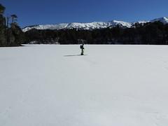 Laguna Captrn (Mono Andes) Tags: chile ski andes invierno laguna skitour esqu parquenacional randonn chilecentral regindelaaraucana parquenacionalconguillo lagunacaptrn