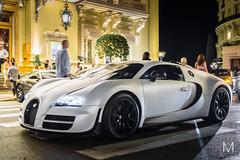 Bugatti Veyron (*AM*Photography) Tags: auto white car night square nikon automobile fast automotive casino montecarlo special exotic bugatti rare supercar matte veyron d3200 hypercar worldcars