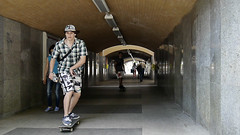 Sopot in Poland 17/7 2014. (photoola) Tags: street frankreich poland tunnel skateboard tunel  frankrike sopot ranska  photoola