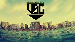 Virtual Sound Crew (Abraham de Palacio) Tags: blue sea building beach logo crew virtual sound cdiz hiphopflash abrahamdepalacio virtualsoundcrew