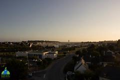 Port du Crouesty depuis le haut du mât