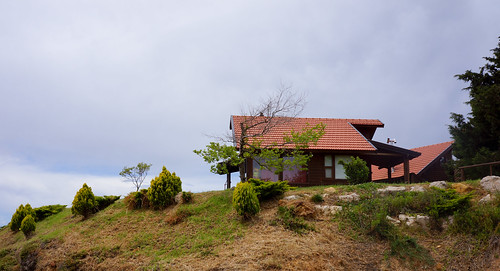 Cabins in Nimrod, Golan Heights