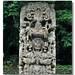 Copan HN - Stela B Uaxaclajuun Ub'aah K'awiil Detail