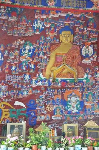 西藏-藥王山-萬佛牆