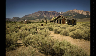 Abandoned Cabins in the High Chaparral