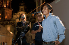 Proyeccion La Jaula de Oro, Fiesta de las Culturas Indigenas (Fotogaleria oficial) Tags: mexico cannes guatemala inmigrantes filme mayas indigenas distritofederal migracion lajauladeoro